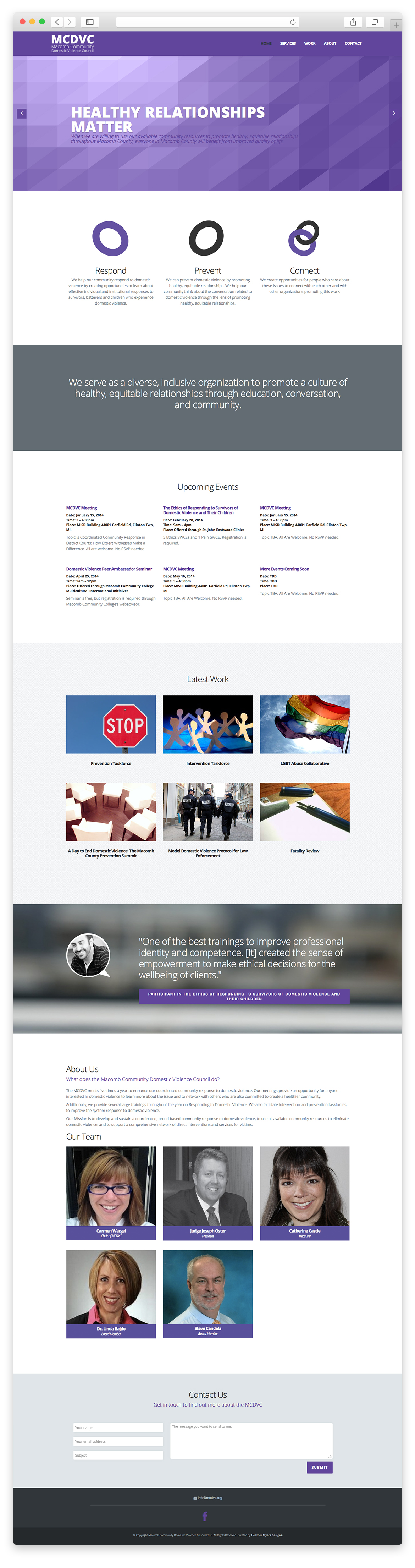 mcdvc-website
